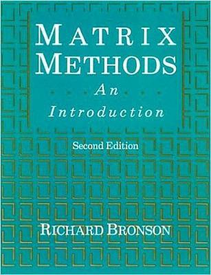 Matrix Methods: An Introduction (Hardback)