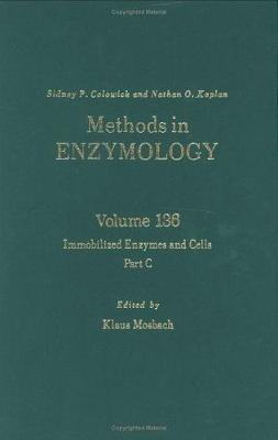 Immobilized Enzymes and Cells, Part C: Volume 136 - Methods in Enzymology (Hardback)