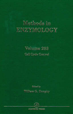 Cell Cycle Control: Volume 283 - Methods in Enzymology (Hardback)