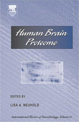 Human Brain Proteome: v. 62 (Hardback)