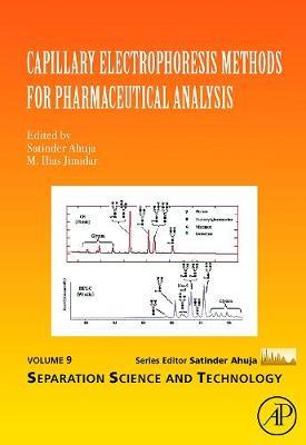 Capillary Electrophoresis Methods for Pharmaceutical Analysis: Volume 9 - Separation Science and Technology (Hardback)