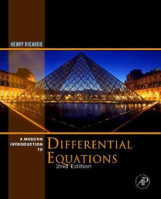 A Modern Introduction to Differential Equations (Hardback)