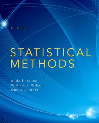 Statistical Methods (Hardback)