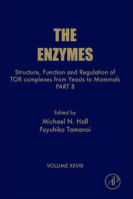 Structure, Function and Regulation of TOR complexes from Yeasts to Mammals: Volume 28: Part B - The Enzymes (Hardback)