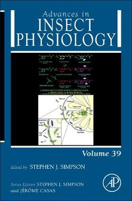 Advances in Insect Physiology: Volume 39 - Advances in Insect Physiology (Hardback)