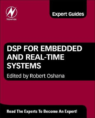 DSP for Embedded and Real-Time Systems (Hardback)