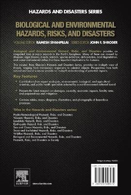Biological and Environmental Hazards, Risks, and Disasters (Hardback)