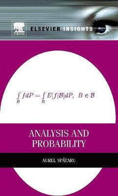 Analysis and Probability (Hardback)
