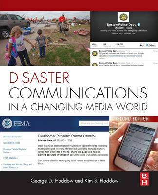 Disaster Communications in a Changing Media World (Paperback)