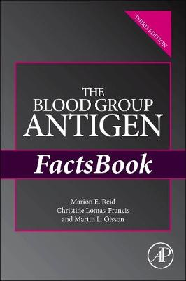 The Blood Group Antigen FactsBook - Factsbook (Paperback)