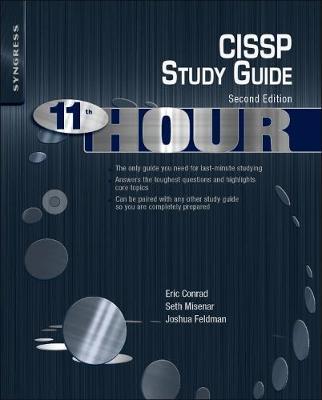 Eleventh Hour CISSP: Study Guide (Paperback)