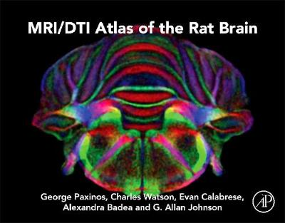 MRI/DTI Atlas of the Rat Brain (Hardback)