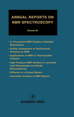 Annual Reports on NMR Spectroscopy: Volume 50 - Annual Reports on NMR Spectroscopy (Hardback)
