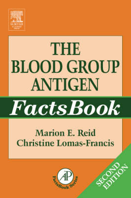 The Blood Group Antigen Facts Book - FactsBook (Paperback)