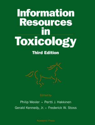 Information Resources in Toxicology (Hardback)