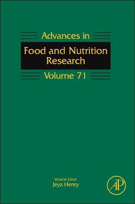 Advances in Food and Nutrition Research: Volume 71 - Advances in Food and Nutrition Research (Hardback)