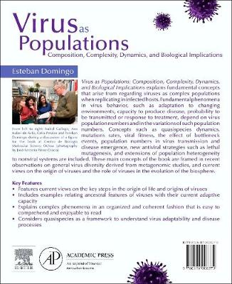 Virus as Populations: Composition, Complexity, Dynamics, and Biological Implications (Paperback)