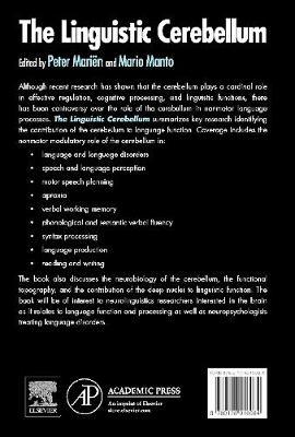 The Linguistic Cerebellum (Hardback)