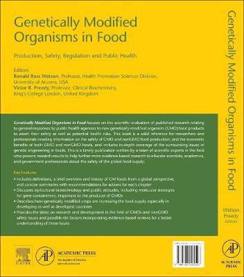 Genetically Modified Organisms in Food: Production, Safety, Regulation and Public Health (Hardback)