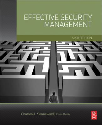 Effective Security Management (Hardback)