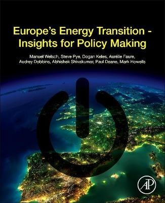 Europe's Energy Transition: Insights for Policy Making (Paperback)