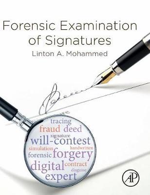Forensic Examination of Signatures (Hardback)