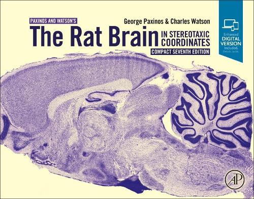 The Rat Brain in Stereotaxic Coordinates: Compact (Spiral bound)