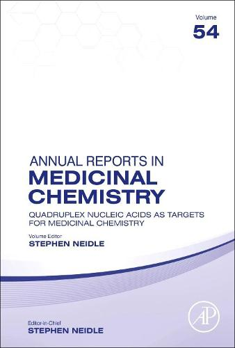Annual Reports in Medicinal Chemistry: Volume 54 - Annual Reports in Medicinal Chemistry (Hardback)