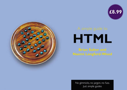 A simple guide to HTML - Simple Guides (Paperback)