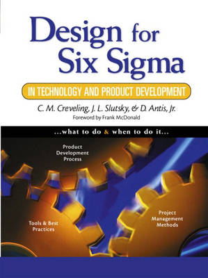 Design for Six Sigma in Technology and Product Development (Paperback)