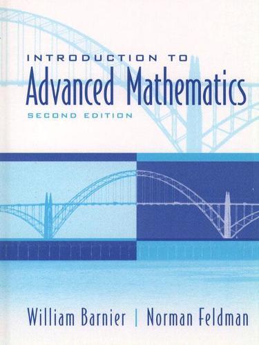 Introduction to Advanced Mathematics (Hardback)