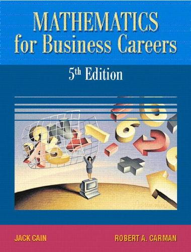 Mathematics for Business Careers