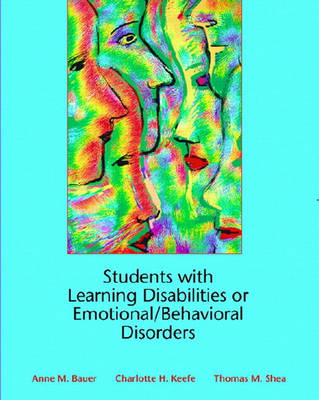 Students with Learning Disabilities or Emotional/Behavioral Disorders (Paperback)