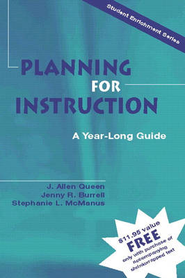 Planning for Instruction: A Year-Long Guide (Paperback)