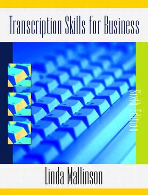 Transcription Skills for Business (Paperback)