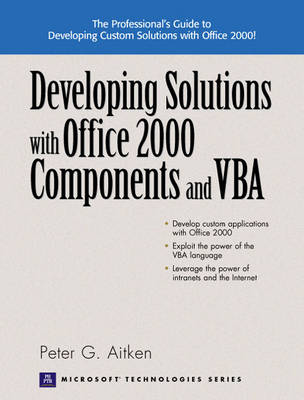 Developing Solutions with Office 2000 Components and VBA (Paperback)
