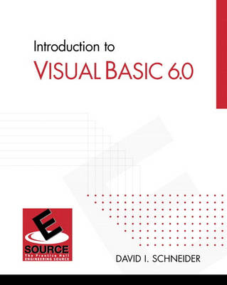 Introduction to Visual Basic 6.0 (Paperback)