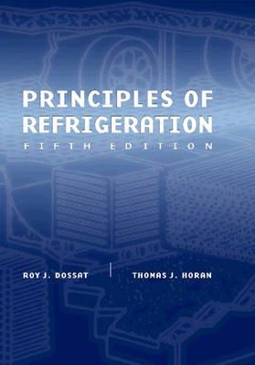 Principles of Refrigeration (Hardback)