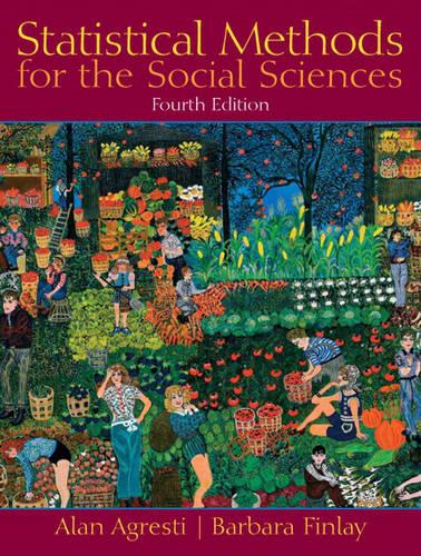 Statistical Methods for the Social Sciences (Hardback)