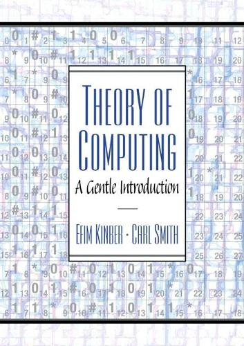 Theory of Computing: A Gentle Introduction (Hardback)