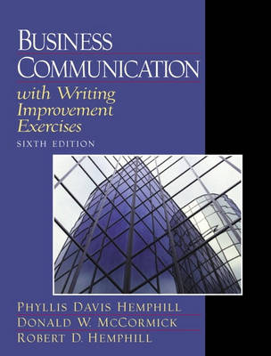 Business Communication with Writing Improvement Exercises (Paperback)
