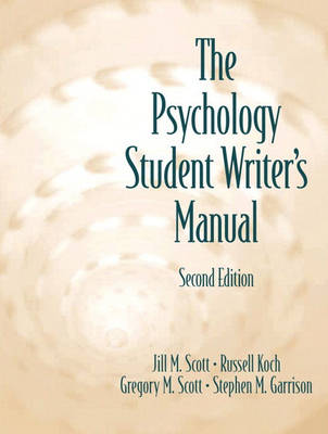 The Psychology Student Writer's Manual (Paperback)