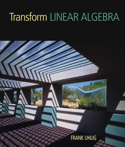 Transform Linear Algebra (Hardback)