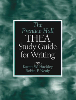 The Prentice Hall THEA Study Guide for Writing (Paperback)