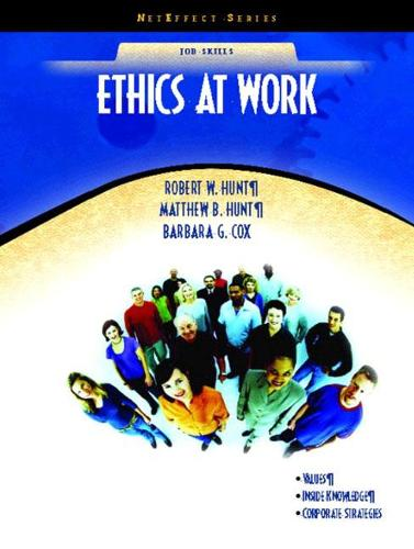 Ethics at Work (NetEffect Series) (Paperback)