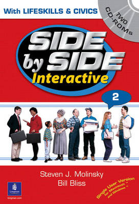 Side by Side Interactive 2, with Civics/Lifeskills (2 CD-ROMs) (CD-ROM)