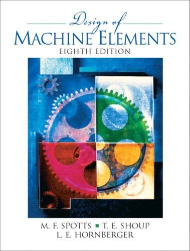 Design of Machine Elements: United States Edition