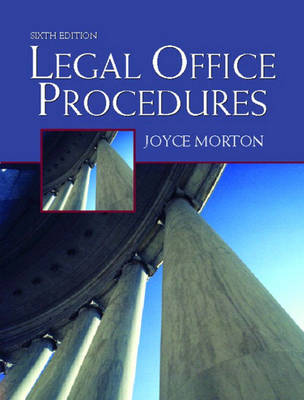 Legal Office Procedures (Paperback)
