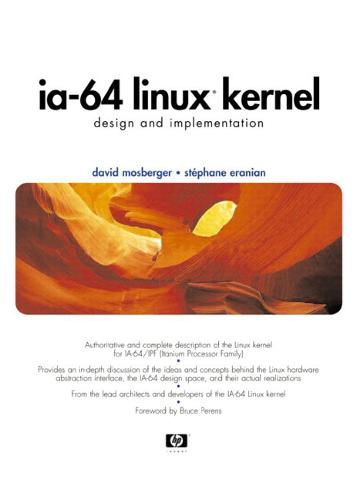 IA-64 Linux Kernel: Design and Implementation (Hardback)