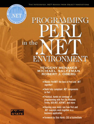 Programming Perl in the .NET Environment (Paperback)